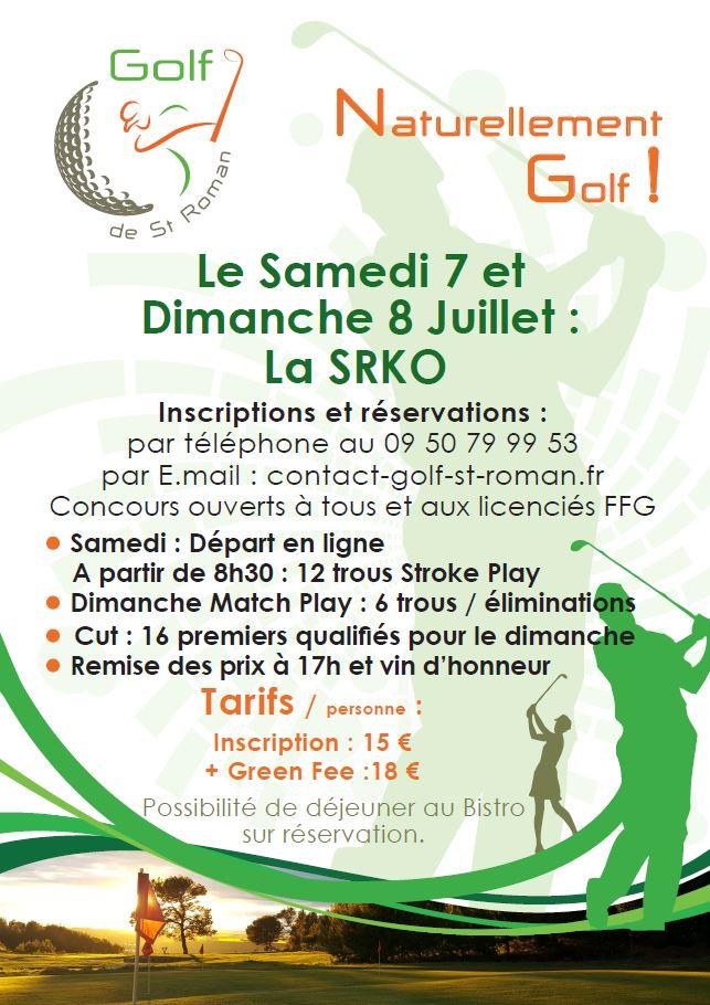 Samedi 7 et dimanche 8 juillet: La SRKO