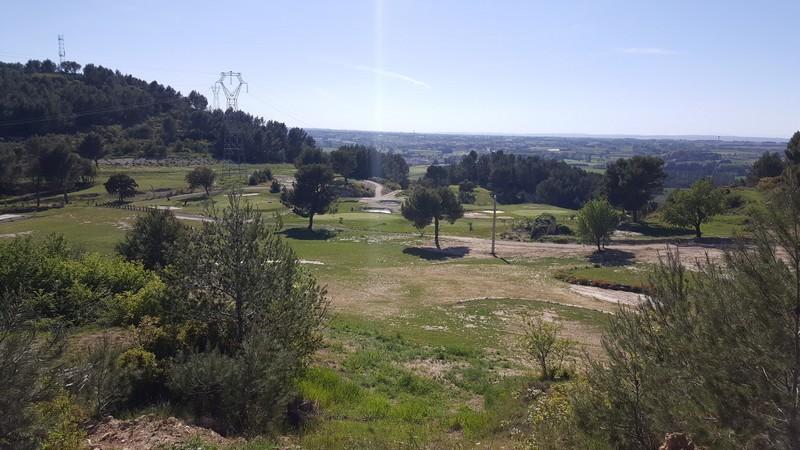 Le parcours du golf de St Roman
