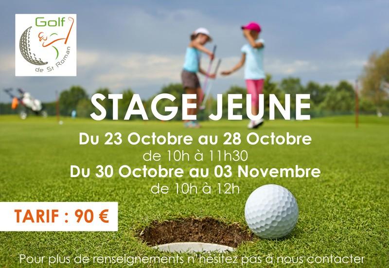 Golf stage jeune
